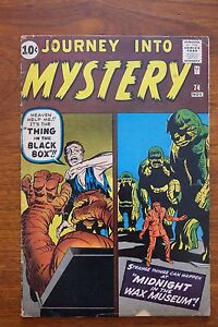 """JOURNEY INTO MYSTERY #74 - VERY GOOD+ (4.5) *PROTOTYPE OF """"THE THING"""" & SKRULLS*"""
