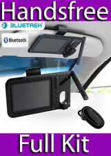 BLUETREK SURFACE SOUND DUO & TATTOO HEADSET SUN VISOR HANDSFREE BLUETOOTH KIT