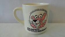 Geoffrey 1979 United Artist Pink Panther Safeco Title Insurance Coffee Cup #J456