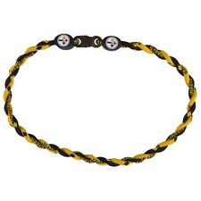 Pittsburgh Steelers - Logo Titanium Twist 18 Necklace