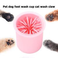 Pet Foot Cleaner Dog Cat Paw Washer Pet Feet Brush Grooming Tool Silicone Mug