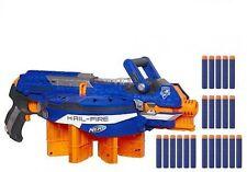 NERF N-Strike Elite Hail Fire Blaster Dart Gun Reload Shoot Long Range Darts FUN