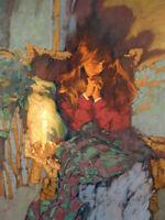 """Peace in Prayer"" Michael Dudash Fine Art Canvas Giclee"