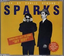 """SPARKS - WHEN DO I GET TO SING """"MY WAY"""" THE UK 1995 REISSUE CD SINGLE PART 1"""