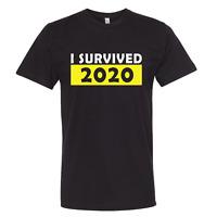 I Survived 2020 Premium Tshirt, Quarantine Pandemic Tee, 19 Rona Survivor Corona