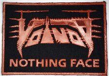 VOIVOD Nothingface Old VTG 80/90`s Rubber 3D Printed Patch/Aufnäher/écusson