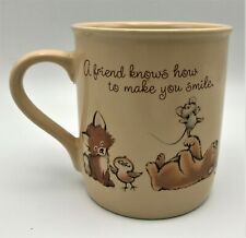 Vintage Hallmark Mug Mates Coffee Tea Mug Friendship 8 oz Baby Animals