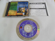 JACKSON BROWNE - World in Motion (CD 1989) JAPAN Pressing/No Barcode