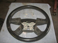 2003 GMC Envoy Leather Wrap Steering Wheel with controls
