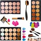 15 Farben Pro Partei Beauty Contour Face Cream Make-up Concealer Palette Set