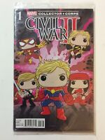 Marvel's Civil War II (2) , No. 1, Collector Corps Edition (Variant), Comic Book