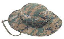 TRU-SPEC 3348 Woodland Digital Camo Waterproof Boonie Hat - One Size Fits Most