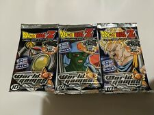 Lot of 3 Dragon Ball Z World Games Saga Booster Pack 1 Each Pack Art