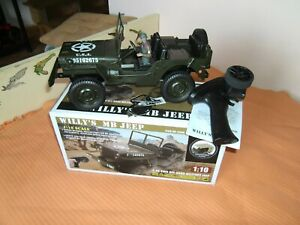 RC Jeep Willy`s MB Jeep 1:10