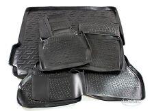 3D TPE Gummimatten + Kofferraumwanne SET für BMW X3 F25 ab 2010