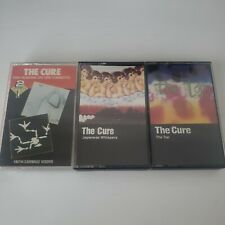 The Cure lot of 3 cassette tape Faith/Carnage Visors The Top Japanese Whispers