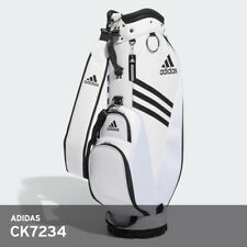 Adidas 2019 Men's Golf Caddie cartbag CK7234 9In 5Way PU/PVC Free EMS / White