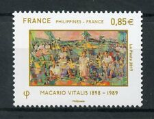 France 2017 MNH Macario Vitalis JIS Philippines 1v Set Art Paintings Stamps