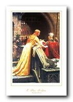 Edmund Blair Leighton A Lady'S Favor Art Print Poster (24x36)
