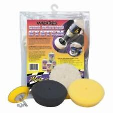 Wizard Products 11250 Mini Buffing System, Includes Three Assorted Mini Pads And