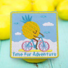 Time Adventure Embroidered Sew On Iron On Patches Badge Fabric Applique Craft