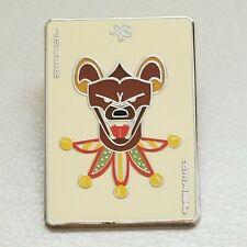 Busch Gardens Tampa Pin Joker Hyena Chaser Ambassador Trading Pin