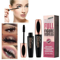 NEW 4D Silk Fiber Eyelash Mascara Extension Makeup Black Waterproof Eye Lashes