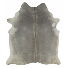 Exotic  Grey Rodeo Cowhide Rug XXXL Size approx 6x8 ft