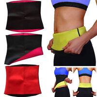 Waist Training Sport Body Shaper Cincher Tummy Girdle Corset Heat Tight Belt