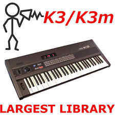 Kawai K3 K3m 2,100 Sounds + 8 Original Banks Programs Patches Largest Library