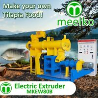 ELECTRIC EXTRUDER TO MAKE YOUR OWN TILAPIA FISH FOOD - MKEW080B (FREE SHIPPING)