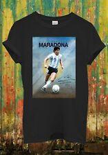 Maradona T Shirt Legend Argentine Men Women Top Unisex T Shirt 2686