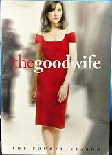 The Good Wife: The Fourth Season (DVD, 2013, 5-Disc Set) BRAND NEW SEALED