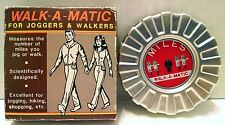 Walk-A-Matic1985 Pedometer Walkers Joggers Vintage 76333 Early Mileage tracker