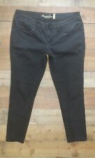 American Rag Cie Jeans 11 SHORT dark Black gray Super Skinny Stretch