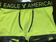 American Eagle Neon Yellow boxer Trunk Small FREE SHIPPING