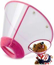 IN HAND Adjustable Pet Recovery Collar Comfy Cat Cone, Size 4XL - Pink