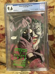 Batman The Killing Joke #nn CGC 9.6 First Print White Pages