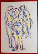 Aquarel Rudolf Beer1993 Mitglied der südostbayr. Künstlergemeins.  DIE GRUPPE