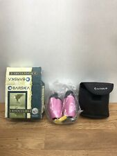 Estate Barska Rare Pro Hot Pink 10X25 Compact Binoculars with Case! 96M/1000M