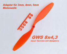 Propeller für Shockflyer Slowflyer Parkflyer GWS 8x4.3
