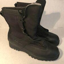 New Belleville Black Infantry Combat Gore Tex Boots Mens Sz 12W Vibram Soles ICB