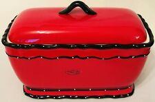 Casa Vero Ceramic Breadbox/ Toast Jar by Ack