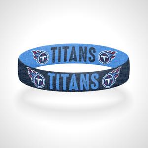 Reversible Tennessee Titans Bracelet Wristband Titan Up