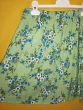 Gonna ElasticizzataUnited Colors of Benetton Taglia S Colore Verde motivo fiori