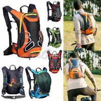 15L Outdoor Bicycle Cycling Rucksack Backpack Hydration Pack Hiking Helmet Bag