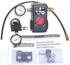 CAMPBELL HAUSFELD CW301300AJ PRESSURE SWITCH CONVERSION CW208102AV CW208101AV