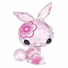 SWAROVSKI THE LOVLOTS #5004522 MIMI THE RABBIT BNIB ZODIAC PINK CRYSTAL FLOWER