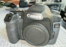 Canon EOS 40D 10.1mp DSLR Camera, body only - Black, with accs & instructions