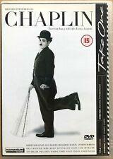 Chaplin DVD 1992 Charlie Biopic Drama Film Movie with Robert Downey Jr
